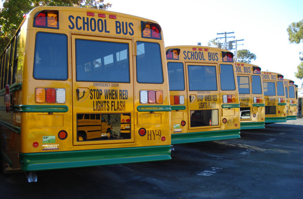 Napa Valley Unified School Buses
