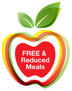 free and reduced meal graphic