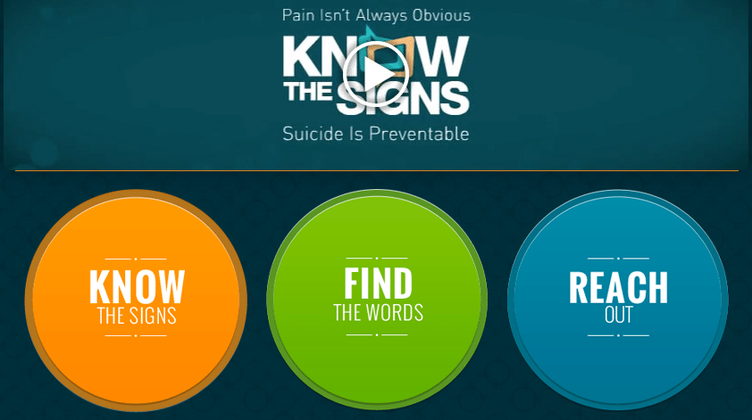 Suicide is preventable website
