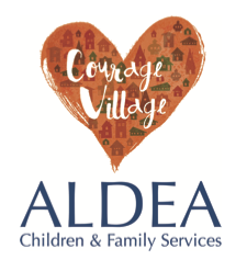Aldea Courage Village logo