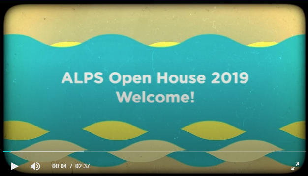 ALPS Open House Slideshow